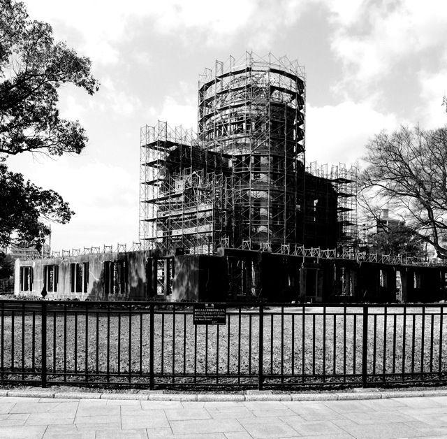 The temples of consumption: Hiroshima Peace Memorial. Kenzo Tange.