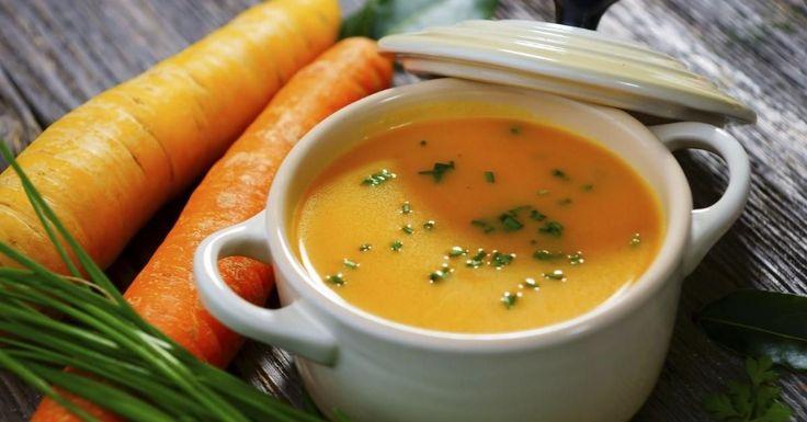 Mmm, profitez de la température vous cuisiner une bonne soupe!