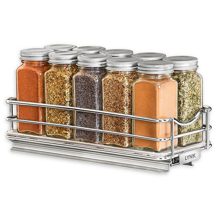 Best Lynk Professional Pull Out Spice Rack Organizer In Chrome 400 x 300
