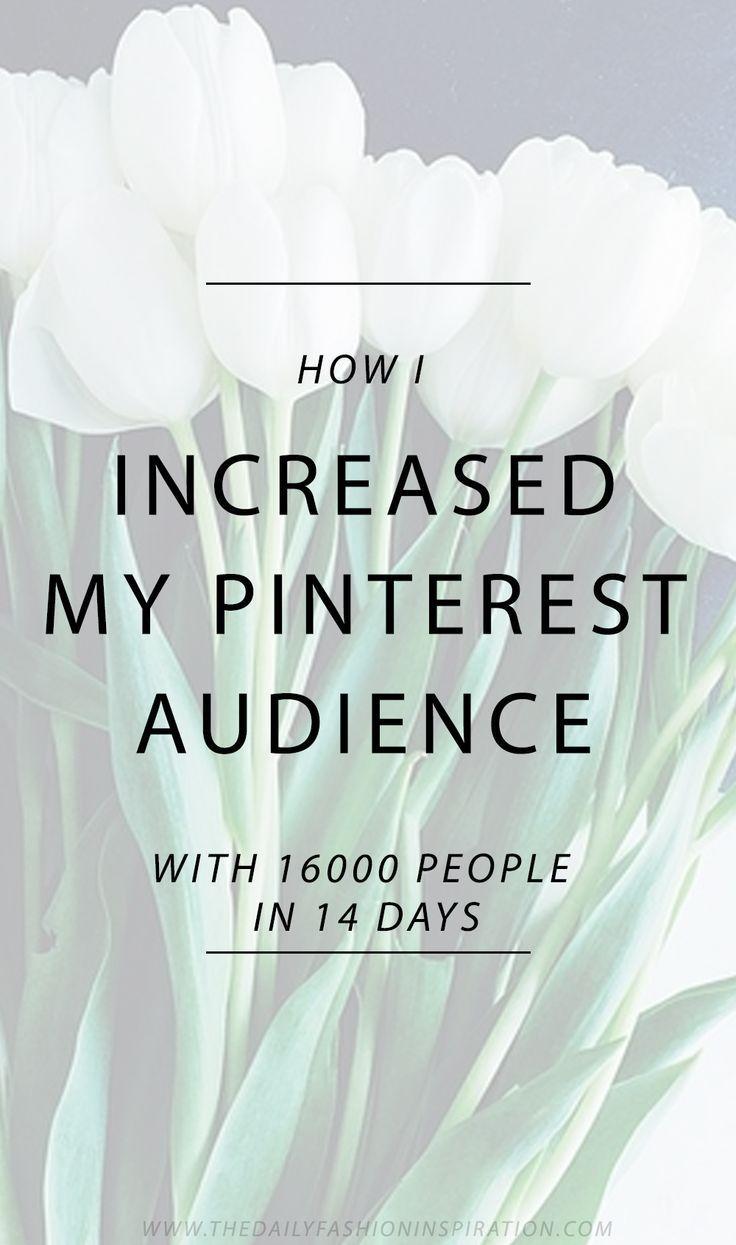 - How I grew my blog traffic and grew my Pinterest followers - Pinterest strategies - Pinterest tips - #best #pinterest #course