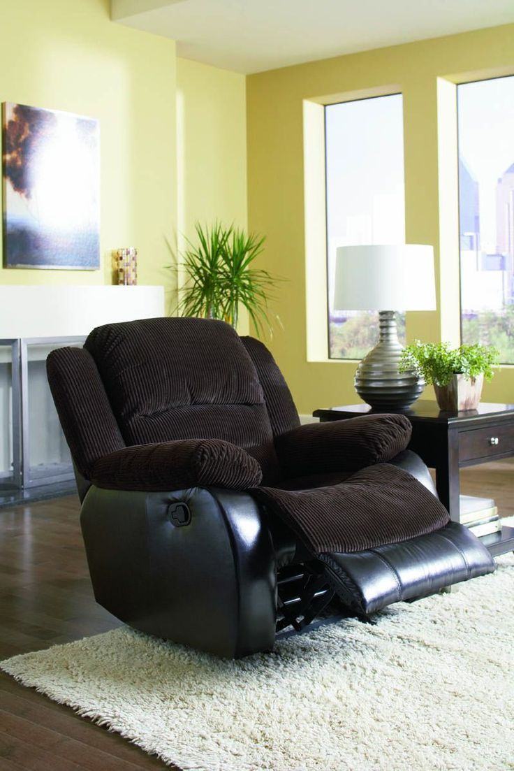 Johanna Casual Chocolate Corduroy Recliner & 79 best Recliners images on Pinterest | Recliners Rockers and ... islam-shia.org
