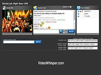 Live Streaming http://www.videowhisper.com/?p=Live+Streaming