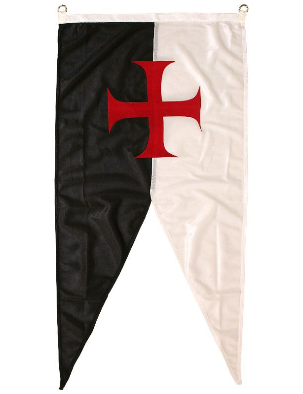 Baussant avec croix Templier