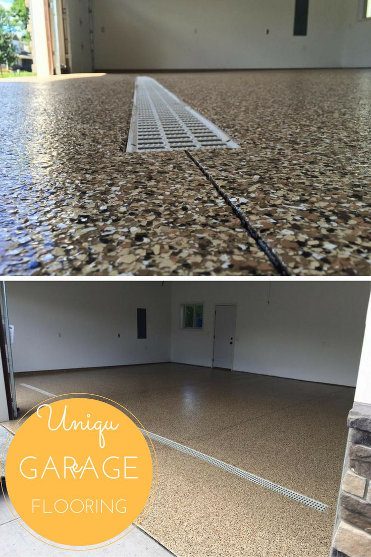 Garage Floor Tiles That Drain Epoxy Floors Add A Touch Of Style And Class To A Space That Is