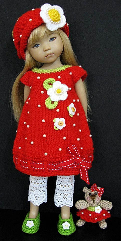 Outfit for EFFNER LITTLE DARLING DOLL 13 ""