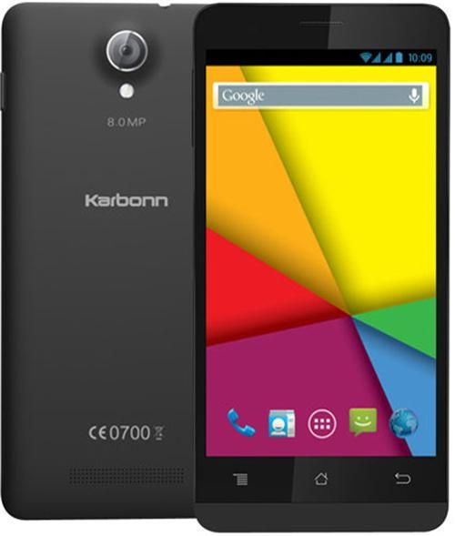 #Karbonn Titanium S5 Ultra is a Dual SIM #smartphone, which runs on the #Android Kitkat operating system.
