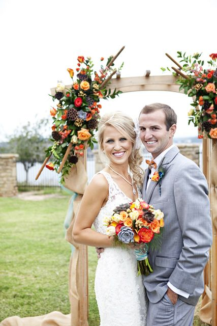 wedding decor | wedding aisle decor | wedding arch | vintage wedding arch decor |  Derrick Tribbey Photography