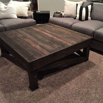 Coffee Table 4x4