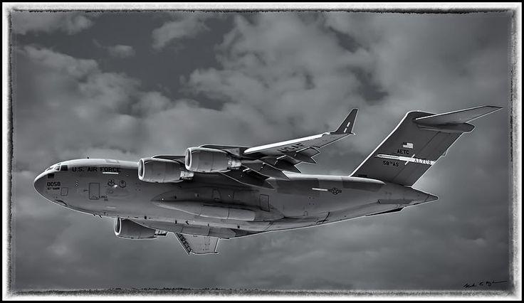 C-17 Globemaster IIi Bwf by Mark Myhaver C-17 Globemaster IIi Bwf by Mark Myhaver