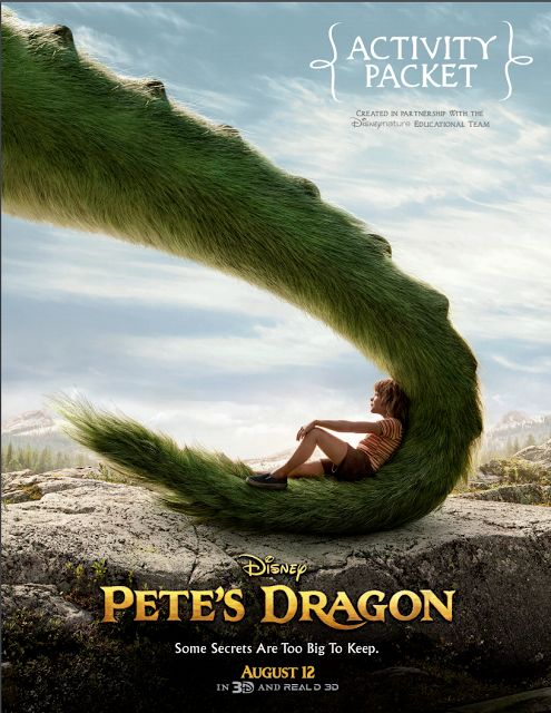 Pete's Dragon, Pete's Dragon Colorado Movie Screening, Free Tickets to Pete's Dragon, Pete's Dragon Video Clips, Pete's Dragon Activity Book