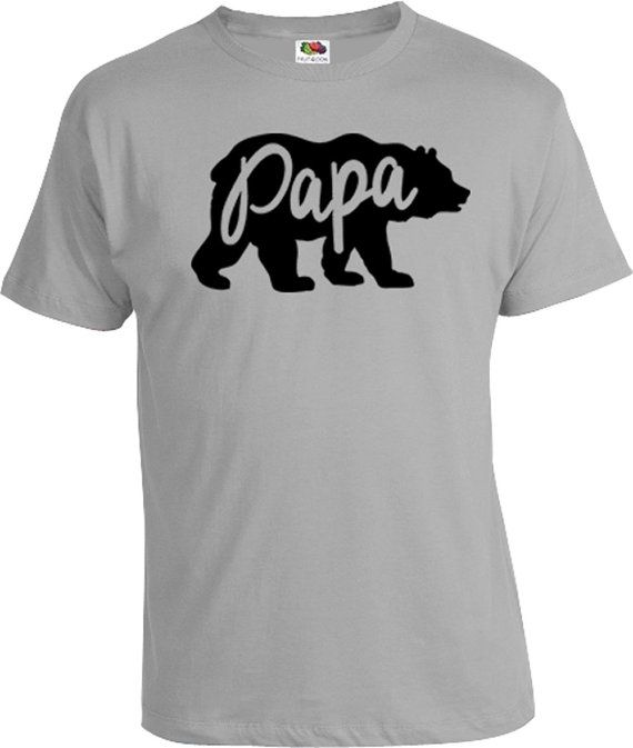 Funny Dad Shirt Gifts For Dad Papa Bear Shirt Daddy T Shirt Dad Gift Ideas  Daddy