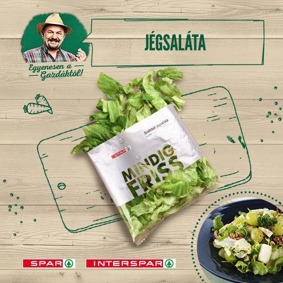 A jégsaláta mindig beindítja a fantáziámat, száz variáció egy témára. Egy sakátához pedig kiváló alap: http://www.spar.hu/hu_HU/spar_chef/receptek/salata/camembertes_szolo_salata.html