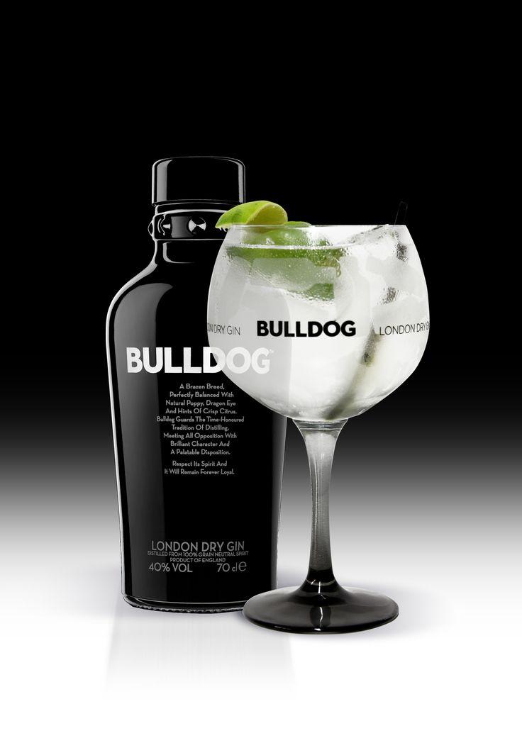 Bulldog gin tonic