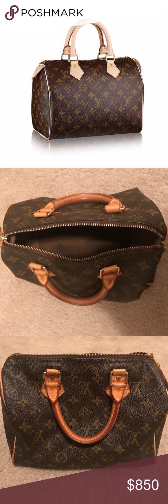Louis Vuitton Speedy 25 M40091 Louis Vuitton Bags Totes