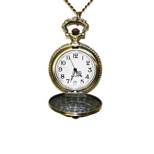 Nightmare Before Christmas horloge ketting brons
