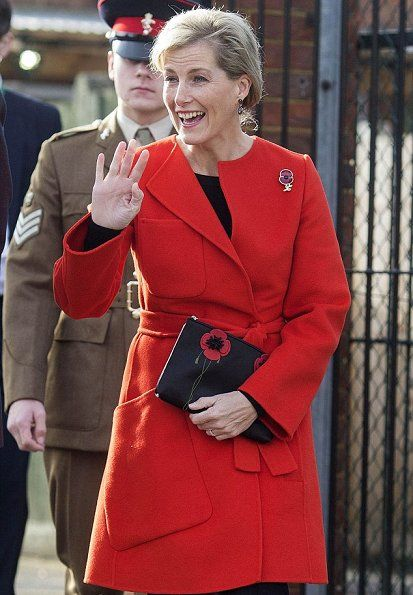 On November 10, 2016, Countess Sophie of Wessex opened the playground and library at Waverley Preparatory School and Nursery in Wokingham, Berkshire, UK.