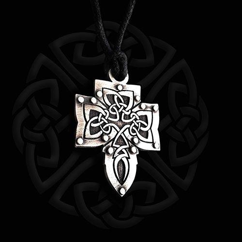 Krzyż celtycki. Srebro.