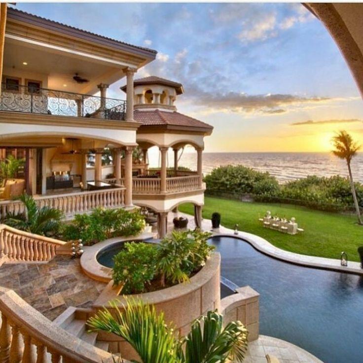 39 Luxury Beach House Design Ideas Homiku Com Luxury Beach House Luxury Homes Dream Houses Mediterranean House Designs