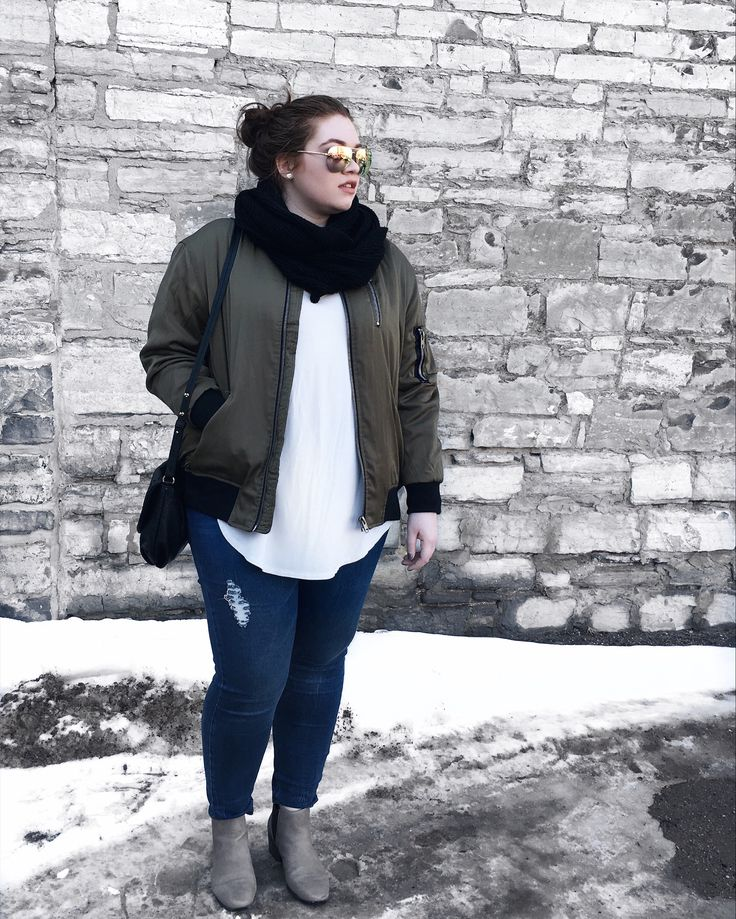 ootd featuring bomber jacket //  pinterest : beautybycatxo