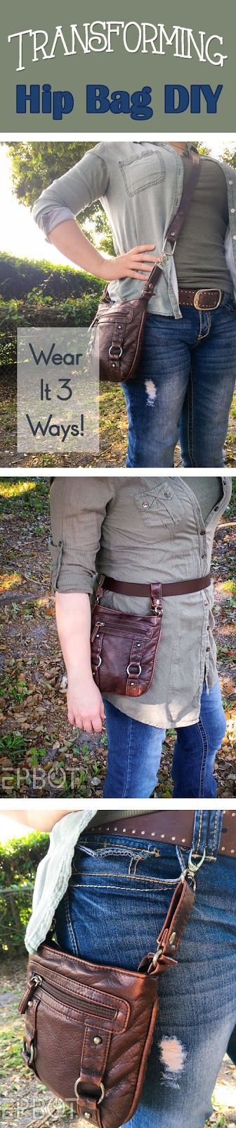 EPBOT: DIY Transforming Purse Is The Last Bag You'll Ever Need