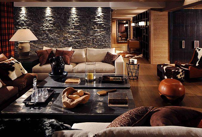 32 best images about chalet on pinterest fireplaces chalets and chalet interior - Moderner chalet stil ...
