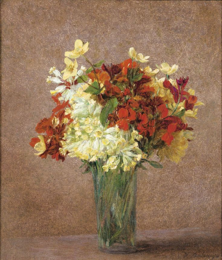 BOUQUET DE PRINTEMPS VICTORIA FANTIN-LATOUR, NÉE DUBOURG unknown date
