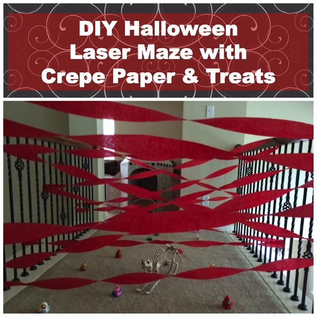easy diy halloween game ideas that use crepe paper and fun prizes from orientaltrading