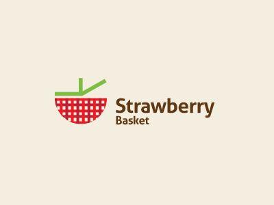 Strawberry Logo Inspiration Gallery | More logos http://blog.logoswish.com/category/logo-inspiration-gallery/ #logo #design #inspiration