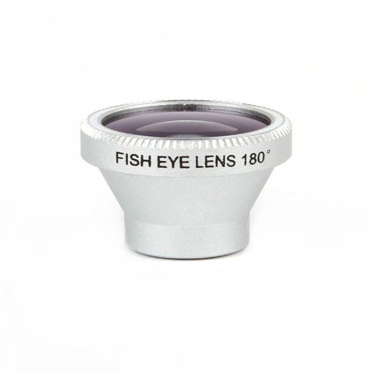 Lente Fisheye (olho-de-peixe) 180º