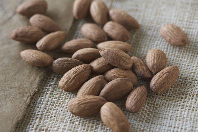 Almonds --- Image by © Kate Kunz/Corbis