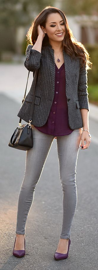 How To Combine Purple and Gray