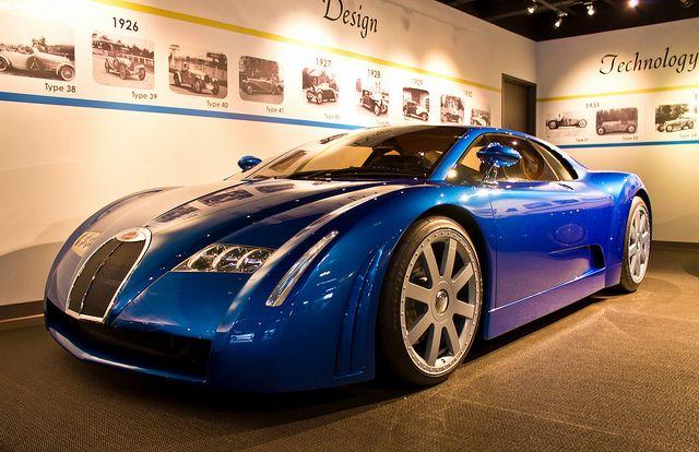 Bugatti 18.3 Chiron Concept (1999)