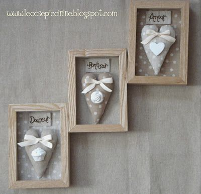 heart shadow boxes