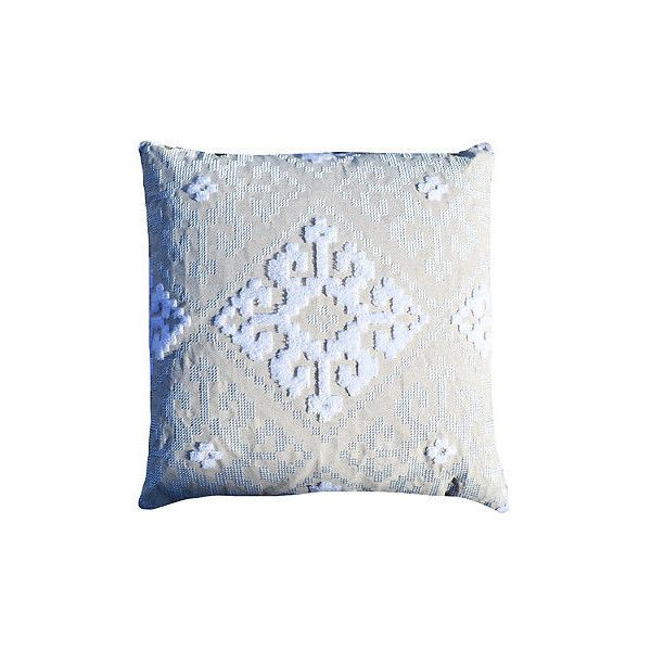 Halla Embellished Decorative Pillow (260 CAD) ❤ liked on Polyvore featuring home, home decor, throw pillows, interior textiles, textile accessories, southwestern home decor, southwest home decor, inspirational throw pillows, southwest throw pillows and southwestern throw pillows