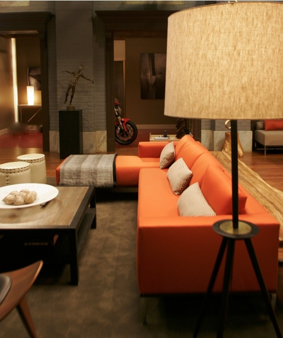 chuck bass residence - living room - gossip girl interiors set decoration  by christina tonkin