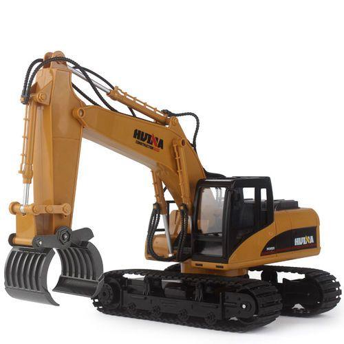 Model Toys RC Car Fork Excavator Construction 16 Channel Metal Charging #ModelToysRCCarForkExcavator