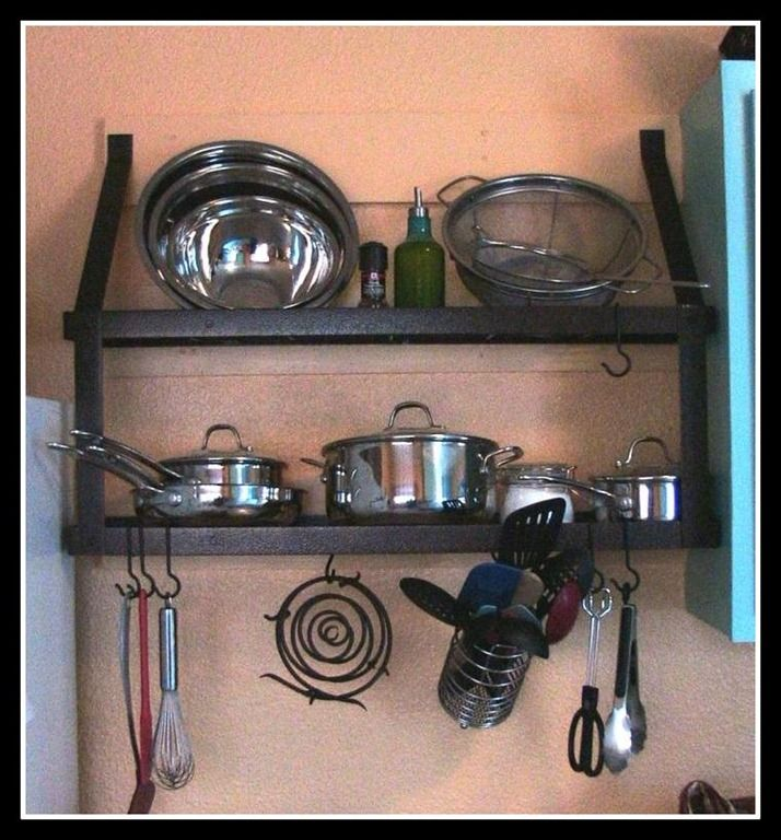 Organizing And Storage Ideas For All Your Cookware Like Pots And Pans And  Lids In Your Kitchen,.