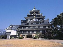 岡山城の写真1