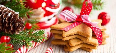 Ο Άγιος Βασίλης, το χριστουγεννιάτικο έλατο και το λαμπρό αστέρι στολίζονται με άχνη και έρχονται στο σπίτι μας!