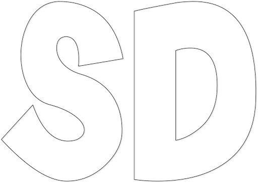 Moldes de letras para imprimir Muchos moldes de letras para imprimir que te servirán para hacer carteles o utilizar en logos , letreros o cualquier otro motiv