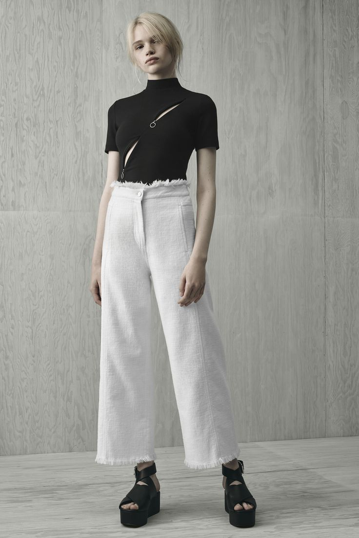 T by Alexander Wang, Look #4 Resort 2016