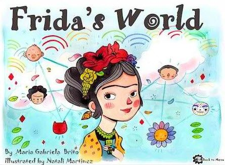 Mommy Maestra: Frida Kahlo Lesson Plans, Activities, Coloring Sheets and More – Painting ideas Ipad Art, Ipad Kunst, 7 Arts, Frida And Diego, Frida Art, Spanish Art, Spanish Culture, Spanish Lessons, Thinking Day