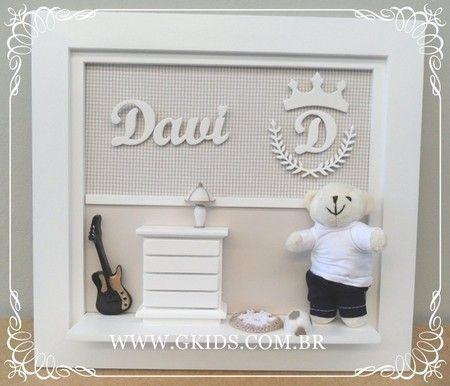 PORTA MATERNIDADE URSO E GUITARRA -Porta Maternidade urso, decoração quarto de bebê,baby room,maternity door,nursery, REF- 1122 www.gkids.com.br
