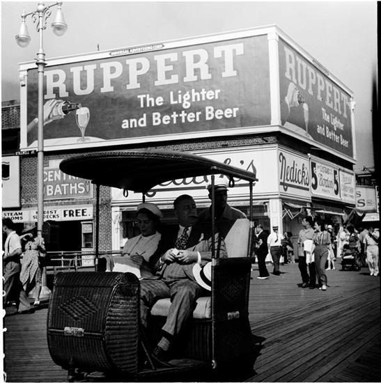 Nedick's, Coney Island, Photo by Andrew Herman, 1939, From the Museum of the City of New York [link]: Bronx 1900 1965, York Link, New York, Photo, Andrew Herman, Coney Island