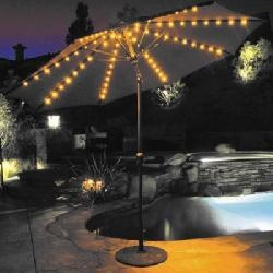 Awesome Best 25+ Patio Umbrella Lights Ideas On Pinterest | Garden Umbrella  Lighting, Patio Table Umbrella And Small Garden Parasol