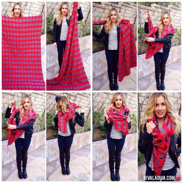 15 Scarf Tying Tricks We Learned from Pinterest - theFashionSpot