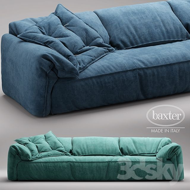 3d Models: Sofa   Sofa DIVANO CASABLANCA SOFA Baxter