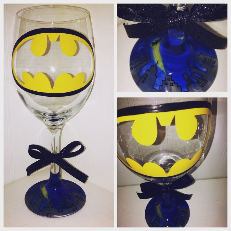 Pinterest Painted Wine Glasses