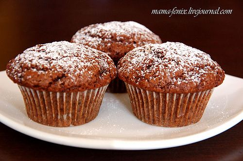 muffins_chocolate_platano by Maria Selyanina, via Flickr