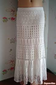 Image result for easy free crochet long skirt patterns